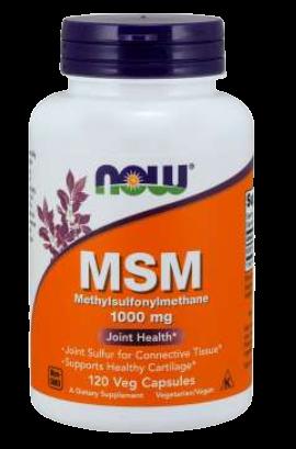 MSM 1000 mg Veg Capsules