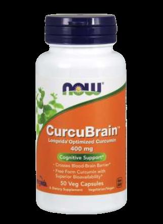 CurcuBrain™ 400 mg Veg Capsules