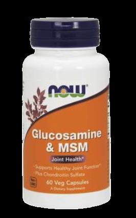 Glucosamine & MSM Veg Capsules