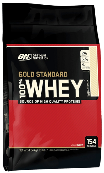 Gold Standard 100% Whey 4540g (154 Servings)