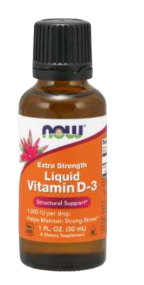 Vitamin D-3 Liquid, Extra Strength