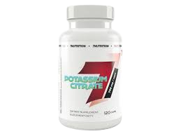 7 Nutrition Potassium Citrate - 120 caps
