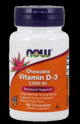 Vitamin D-3 1000 IU Chewables