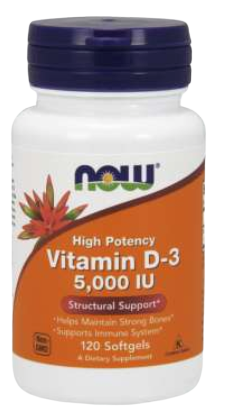 Vitamin D-3 5000 IU Softgels