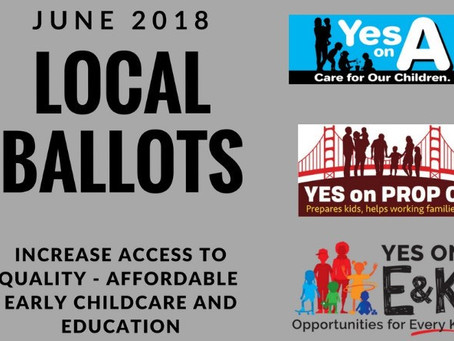 Updates on Bay Area Early Childcare and Learning Ballot Measures