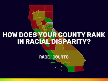 How Does Your County Rank in Racial Disparity?