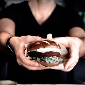Funky Burger (i'm vegan baby)