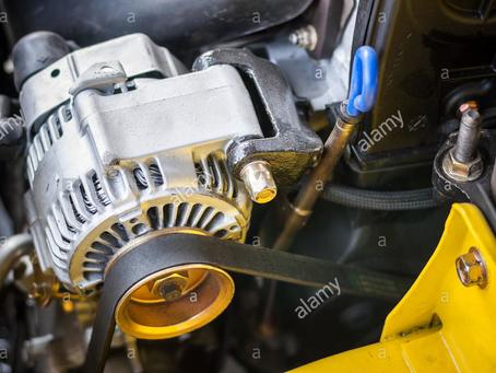 Η σχέση μπαταρίας και δυναμό σε ένα αυτοκίνητο.