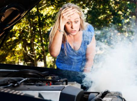 Ενέργειες σε περίπτωση υπερθέρμανσης του κινητήρα