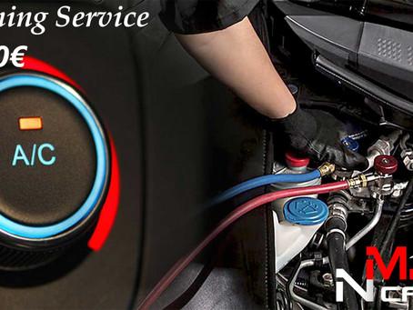 Μεγάλη προσφορά για το service του κλιματισμού στο αυτοκίνητό σας !