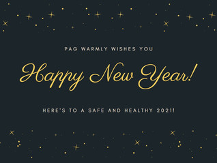 PAG wishes all our pilots a sparkling new year!