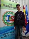 Carlos Alarcón se alza como ganador en el concurso regional de ortografía