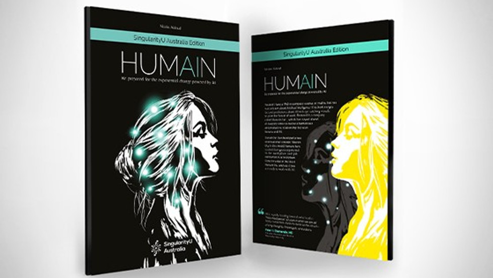 Artificial Intelligence and Humans collaboration | Creative direction and illustration