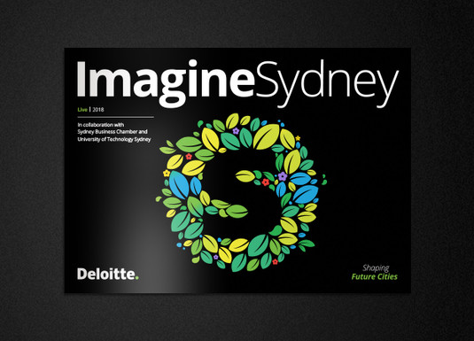 Imagine Sydney report | Creative direction and illustration