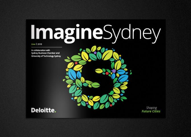 Imagine Sydney report | Creative direction and illustration