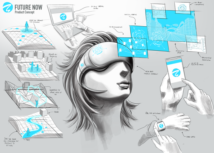 Virtual Reality product concept | Concept visualisation