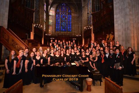 Concert Choir 2019