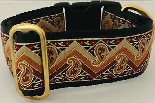 Dancing Paisley Dog Collar $30