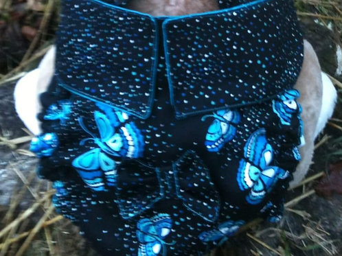 Fancy Butterfly Custom Dog Diaper Panties Britches