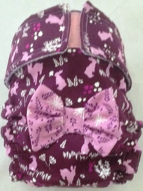 Fancy Hoppington Bunny Quick Ship Dog Diaper Panties Britches $35.50+