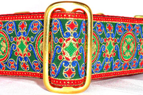 Byzantine Circles Dog Collar