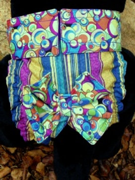 Fancy Groovy Quick Ship Dog Diaper Panties Britches $35.50+