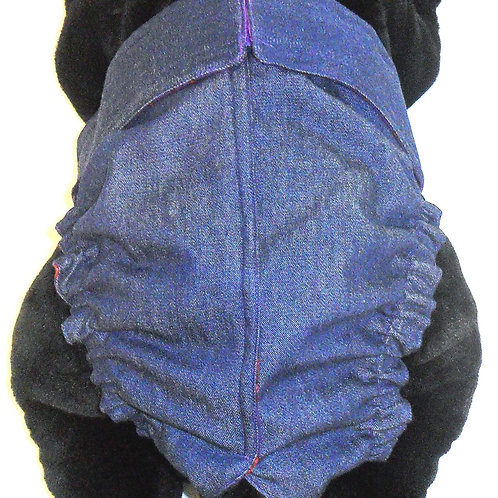 Denim Quick Ship Dog Diapers Panties Britches  $32+