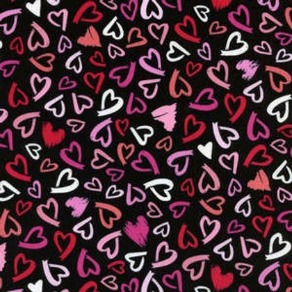 Scattered Hearts Original Custom Dog Diapers Panties Britches