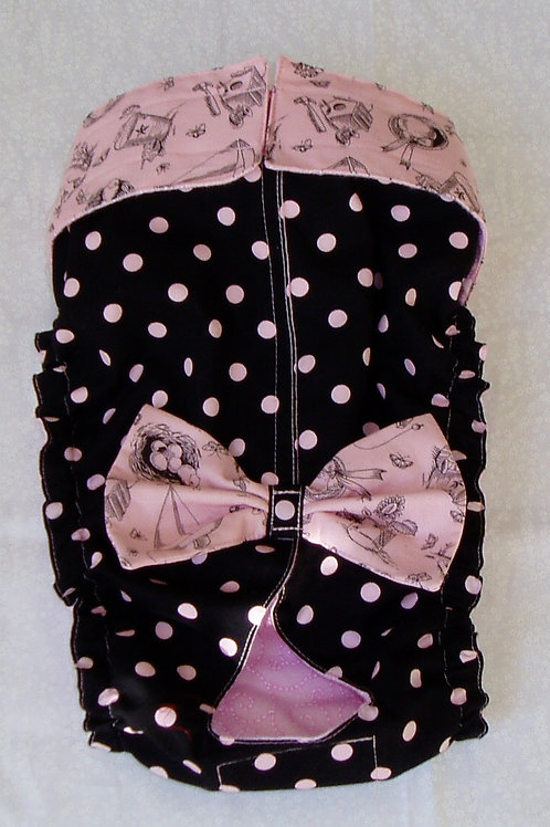 Fancy Pink Toile and Dots Quick Ship Dog Diapers Panties Britches $35.50+