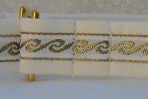 Gold Scroll Wedding Dog Collar $25+