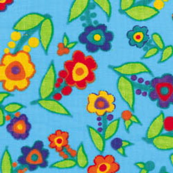 Turquoise Posy Flowered Original Quick Ship Dog Diapers - Starting at $32