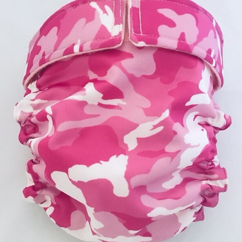 Pink Camo Waterproof Quick Ship Dog Diapers Panties Britches $35+