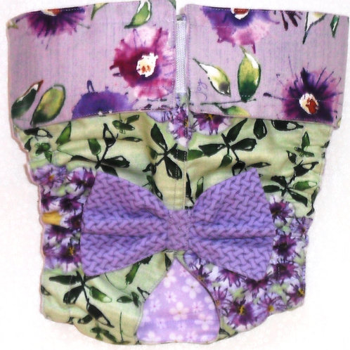 Fancy Wild Flower Joy Quick Ship Dog Diapers Panties Britches $35.50++