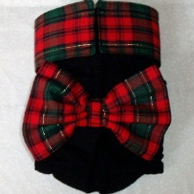 Fancy Christmas Party Quick Ship Dog Diaper  $35.50+
