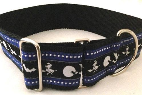 Bat Crazy Halloween Dog Collar by Fancynancys.com
