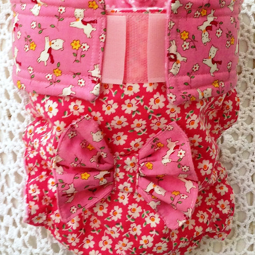 Fancy Posh Pups and Buds Custom Dog Diapers Panties Britch