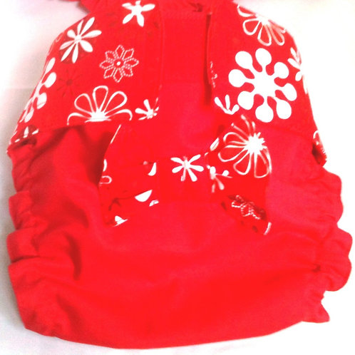 Fancy Christmas Snowflakes Quick Ship Dog Diapers $35.50+
