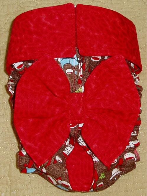 Fancy Wild Monkey Custom Dog Diapers Panties Britches