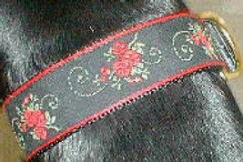 Red Rose Dog Collar $30+
