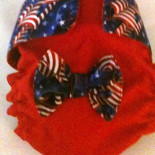 Fancy Patriotic Dog Quick Ship Dog Diapers $35.50+