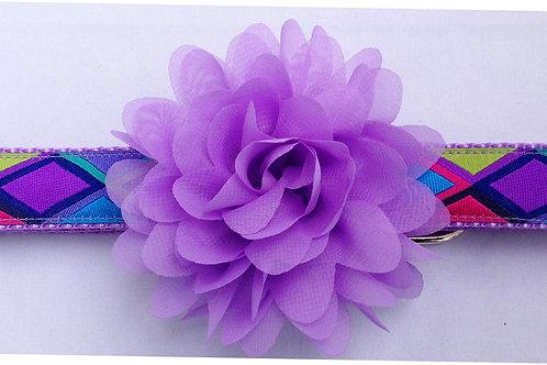 Big Diamonds Purple Dog Collars $25+