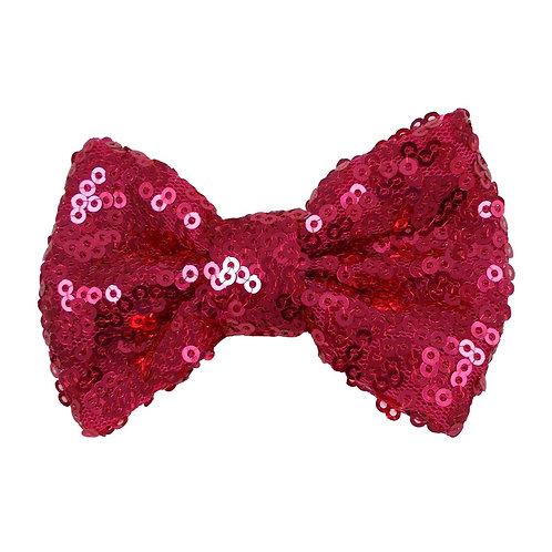 "3"" Magenta Sequin Bow"