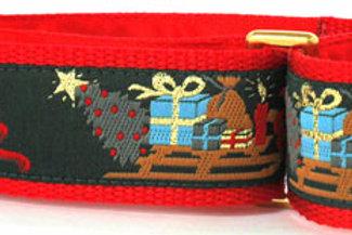 Christmas Presents Ho! Ho! Ho! Dog Collar