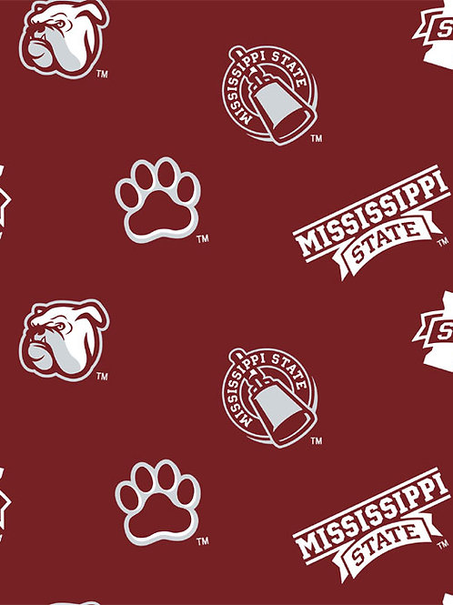 Mississippi State Bulldogs Quick Ship Dog Diapers Panties Britches