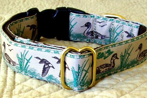 Mallard Duck Dog Collar