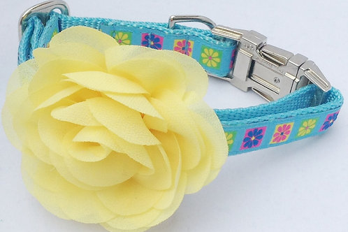 Floral Tile Dog Collars $25+