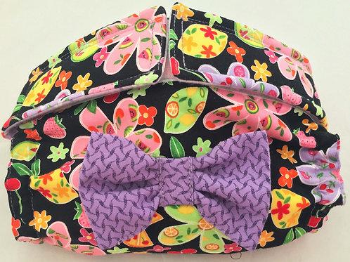 Fancy Tutti Frutti Custom - 3 week ship Dog Diapers Panties Britches $35.50+