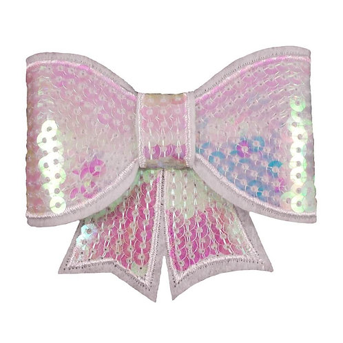 "3"" Iridescent Sequin Bow"