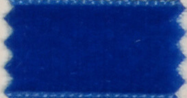 Royal Blue Velvet Dog Leash