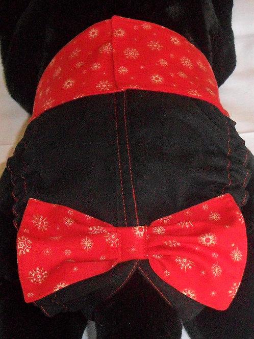 Fancy Holiday Magic  Quick Ship Dog Diaper - Starting at $35.50